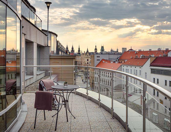Výhled na ulice Starého Města